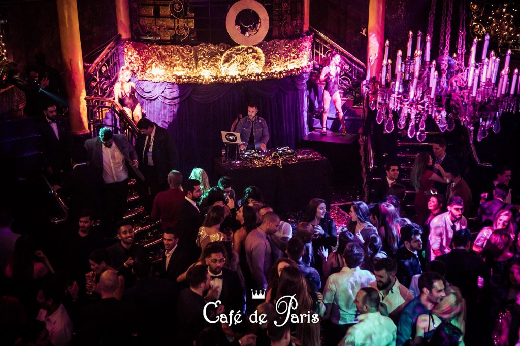 <strong>CAFE DE PARIS LONDON</strong><br>From 500£