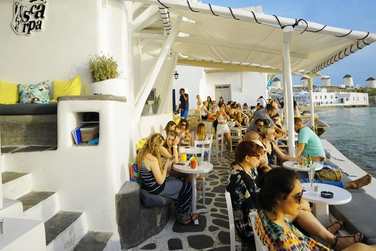 <strong>SCARPA BAR MYKONOS</strong><br>Price on Request