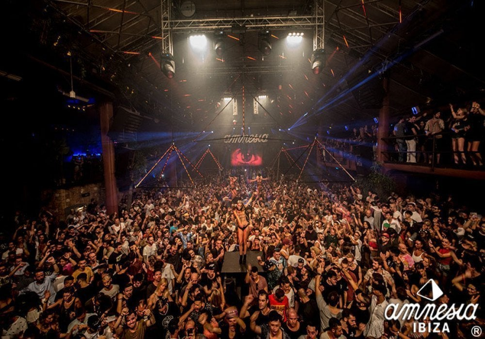 <strong>AMNESIA IBIZA</strong> <br>From 250€ per person